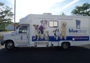 mobile veterinary services portland